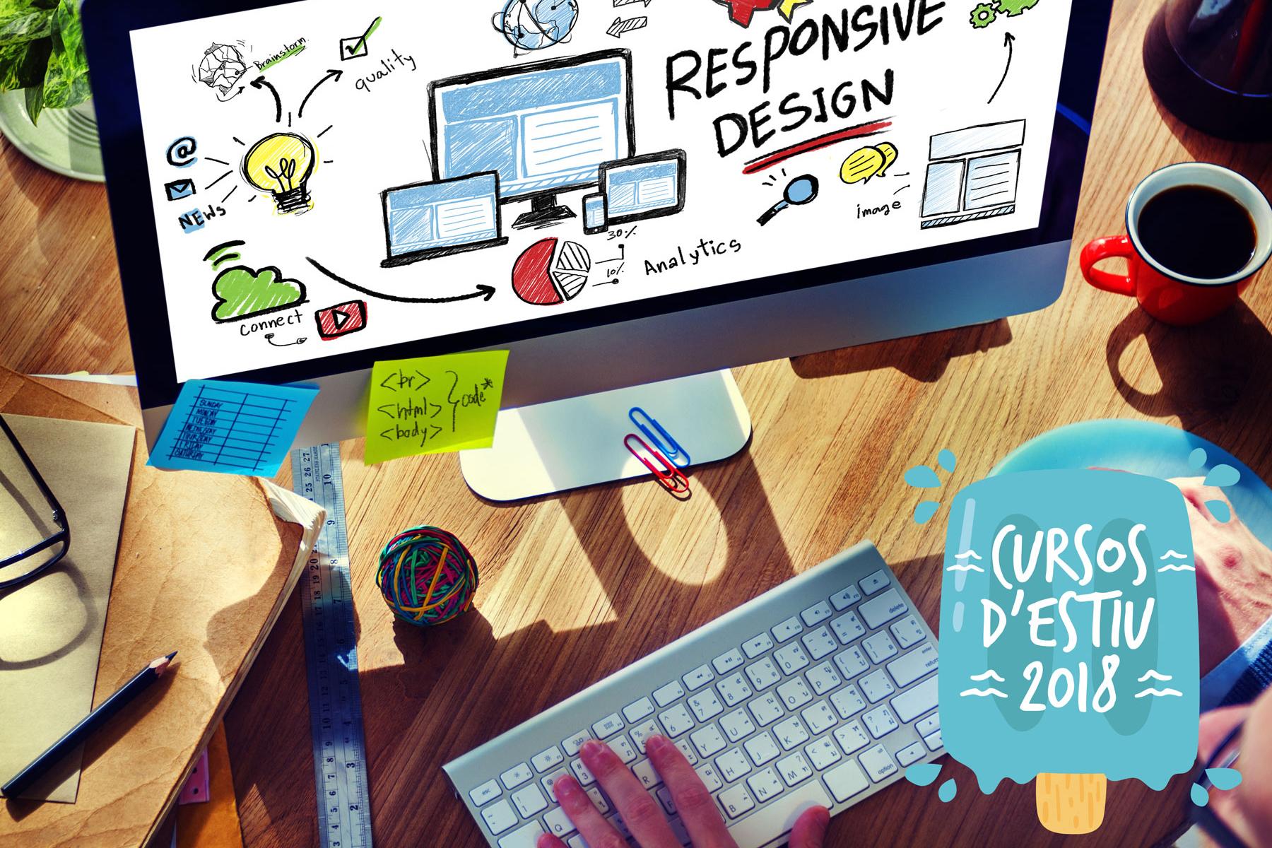 curs estiu disseny pàgines web (html i css) d'aedes Girona
