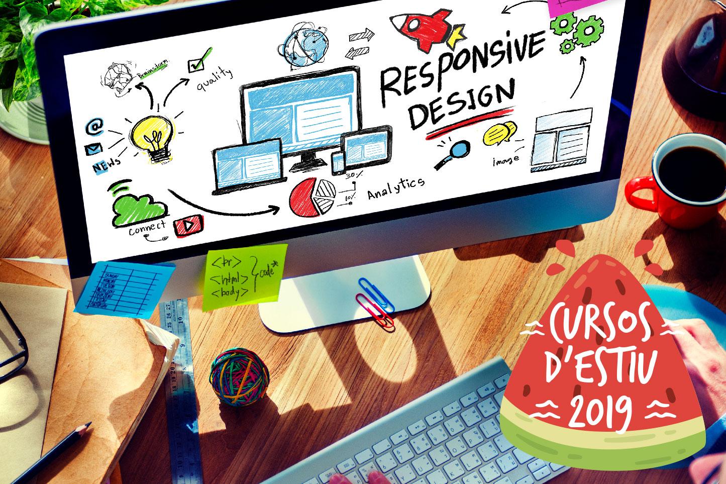 curs disseny de pàgines web estiu aedes girona